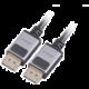 AKASA kabel k monitoru DisplayPort, 8K@60Hz, 5K@60Hz, 4K@144Hz, 2m, černá
