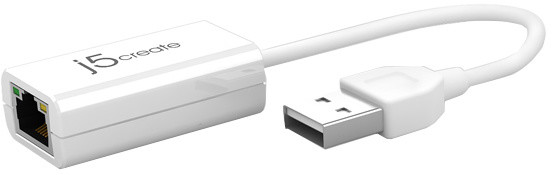 J5CREATE adapter USB2.0 Ethernet (Windows/Mac) JUE120