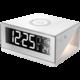 IMMAX budík s podsvícením a bezdrátovým nabíjením QI, bílá