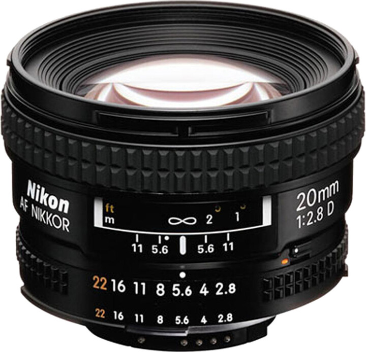 Nikon objektiv Nikkor 20mm f/2.8D AF