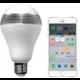 MiPow Playbulb™ Lite LED Bluetooth žárovka s reproduktorem  + MiPow Playbulb Smart chytrá LED Bluetooth žárovka, černá + Voucher až na 3 měsíce HBO GO jako dárek (max 1 ks na objednávku)