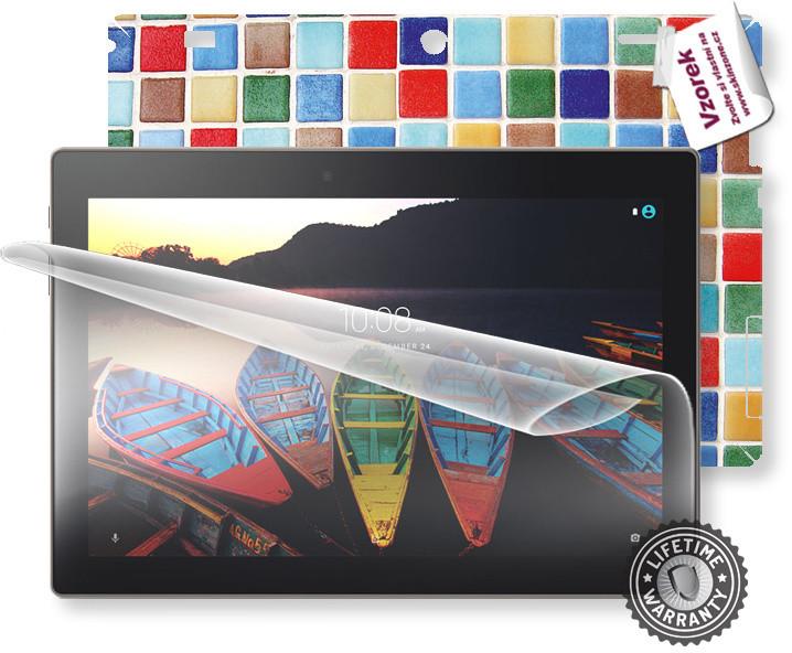 Screenshield fólie na displej + skin voucher (vč. popl. za dopr.) pro Lenovo TAB3 10
