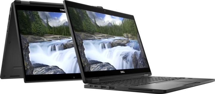 Dell Latitude 13 (7390) Touch, černá