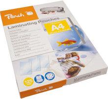 Peach laminovací fólie A4, 125mic, 100ks - PP525-02