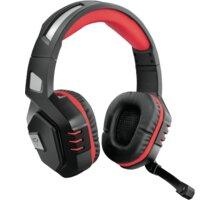 Trust GXT 390 Juga, černá/červená - 23378