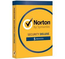 Symantec Norton Security Deluxe CZ 1 uživatel, 5 zařízení, 2 rok - 21384903
