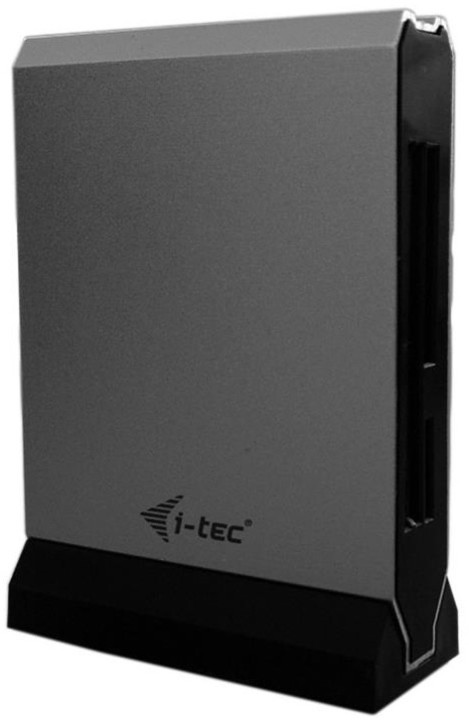 iTec USB 3.0 All-in-One Card Reader Metalic