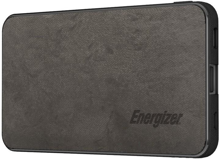Energizer powerbanka, USB-C, 5000mAh, 5V, 2.1A, šedá