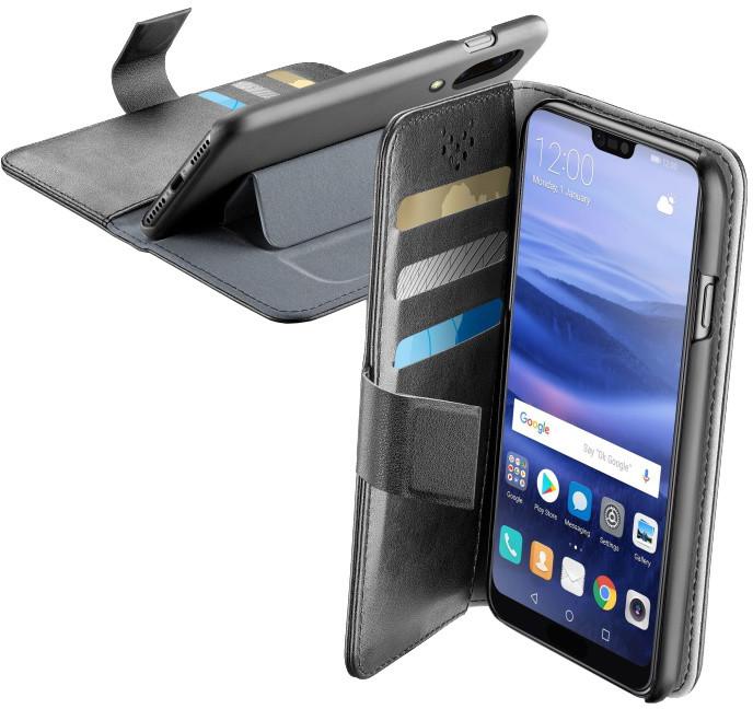 CellularLine Book Agenda pouzdro typu kniha pro Huawei P20 Lite, černé