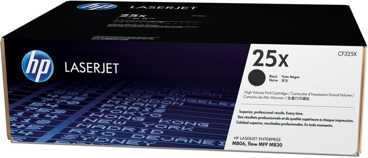 HP CF325X, černá