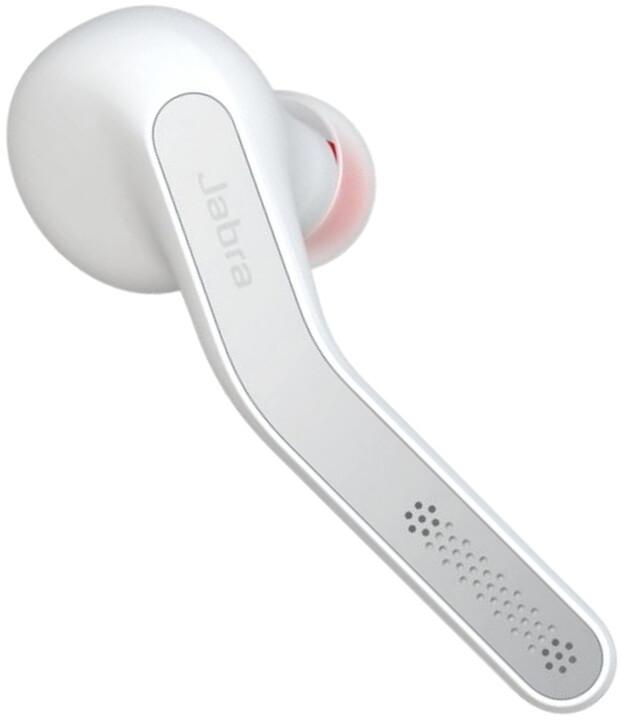 Jabra ECLIPSE Bluetooth přenosná HF sada, White