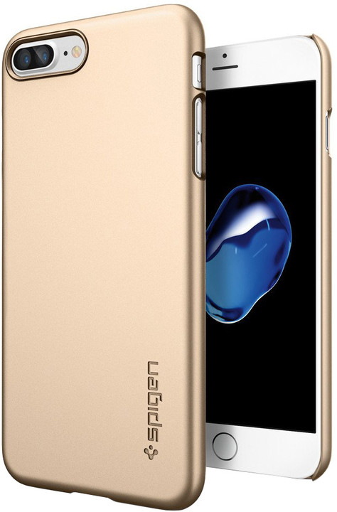 Spigen Thin Fit pro iPhone 7 Plus, champagne gold