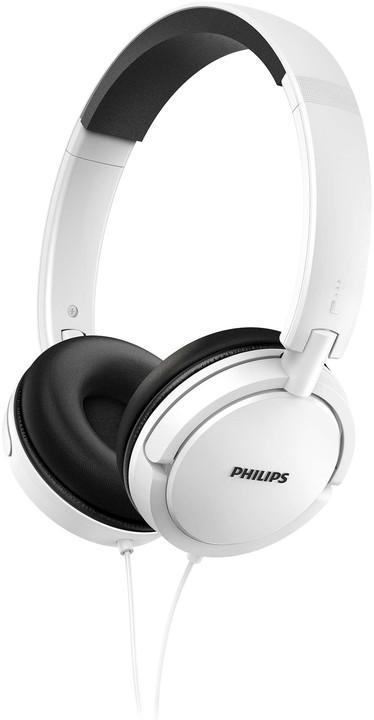 Philips SHL5000, bílá
