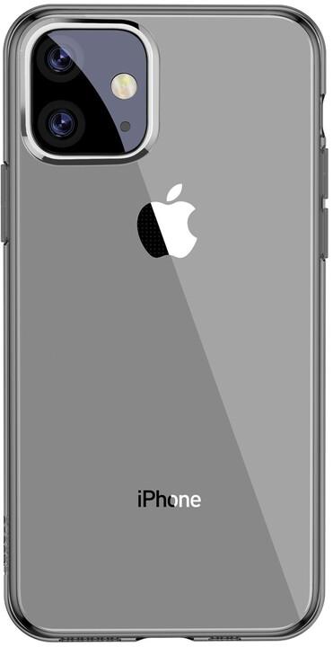 BASEUS Simplicity Series gelový ochranný kryt pro Apple iPhone 11, černá