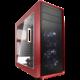 Fractal Design Focus G, červená (okno)  + Voucher až na 3 měsíce HBO GO jako dárek (max 1 ks na objednávku)