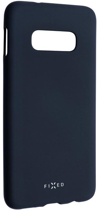 FIXED zadní pogumovaný kryt Story pro Samsung Galaxy S10e, modrá
