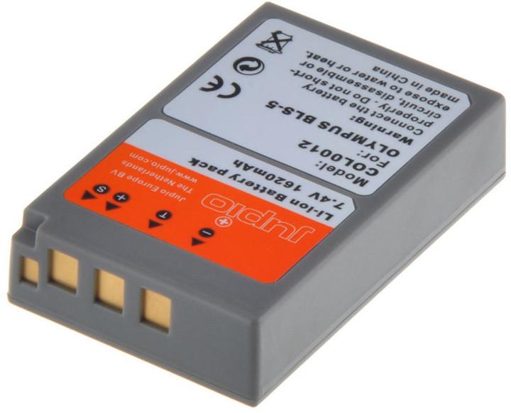 Jupio BLS-5 PS-BLS5 akumulátor pro Olympus