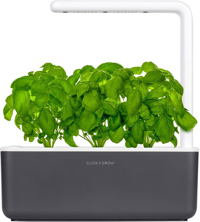 Click and Grow Smart Garden 3, šedá
