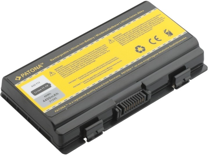 Patona baterie pro ASUS, X51/ T12 4400mAh Li-Ion 11,1V