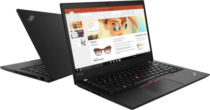 Lenovo ThinkPad T495, černá