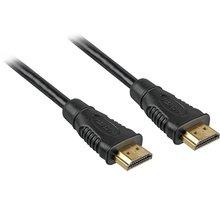 PremiumCord Kabel HDMI A - HDMI A M/M 3m zlac. kon.,verze HDMI 1.3b - kphdmi3