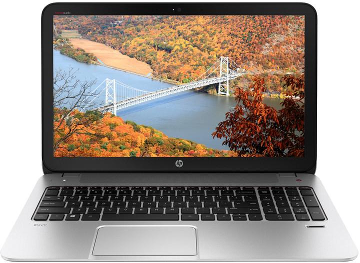HP ENVY 15-j110nc, stříbrná