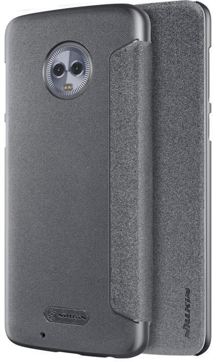 Nillkin Sparkle Folio pouzdro pro Lenovo Moto G6, Black