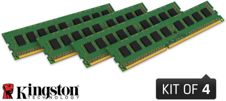 Kingston System Specific 32GB (4x8GB) DDR3 1600 ECC brand Dell