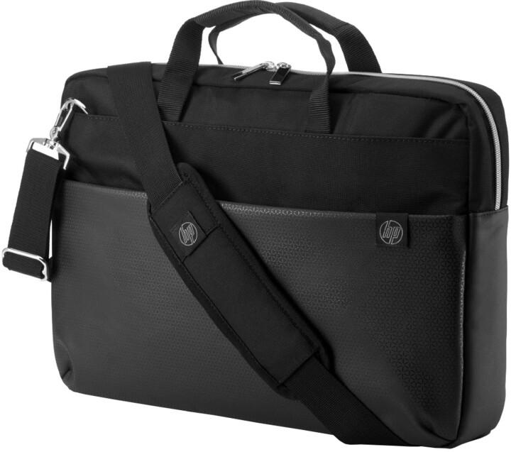HP taška Pavilion Accent, černo/stříbrná