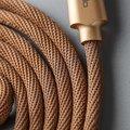 Mcdodo Knight datový kabel Lightning s inteligentním vypnutím napájení, 1.8m, zlatá