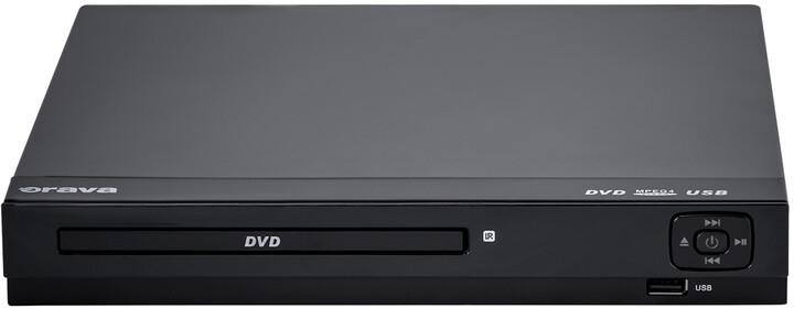 Orava DVD-405, černý