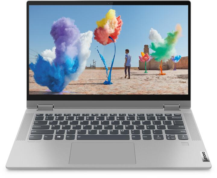 Lenovo IdeaPad Flex 5 14ARE05, šedá + dotykové pero