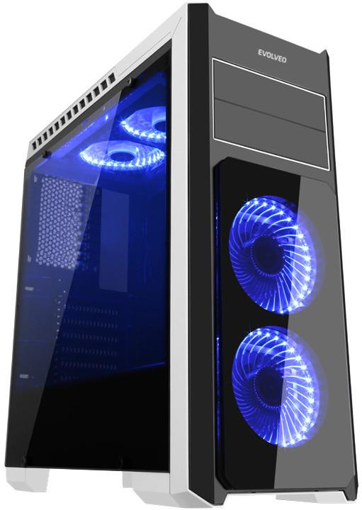 Evolveo Ray 4, bílo-černý