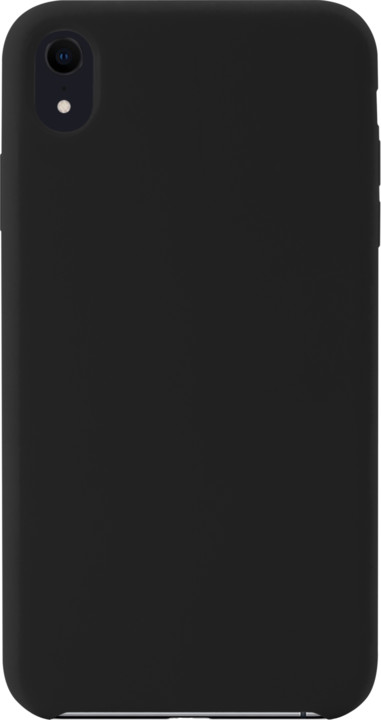 EPICO Silikonový kryt pro iPhone XR, černý