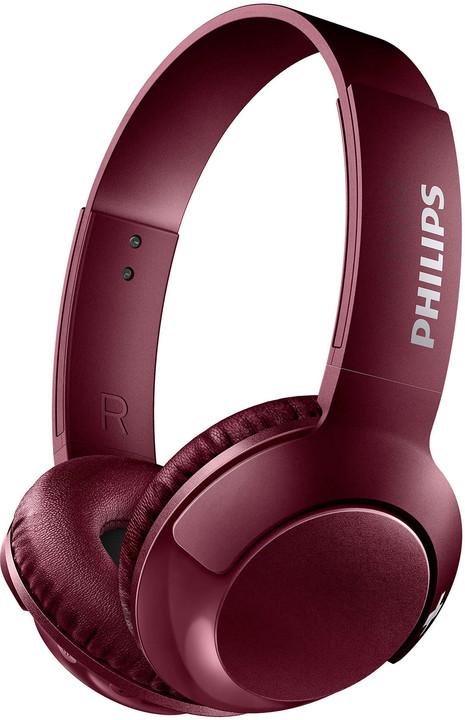 Philips SHB3075, červená