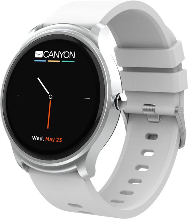 CANYON chytré hodinky Oregano, bílé