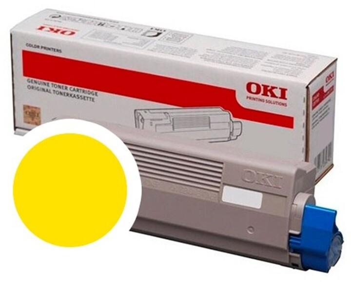 OKI 46861305, žlutá