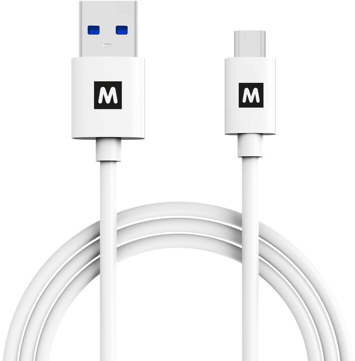 MAX MUC3100W kabel USB C 3.1 1m, bílá