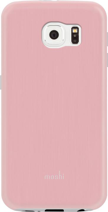 Moshi iGlaze pouzdro pro Galaxy S6, růžová