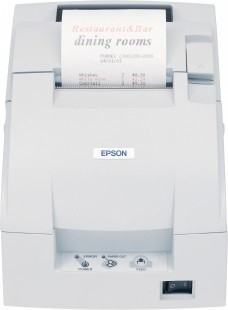 Epson TM-U220B-007, pokladní tiskárna, bílá