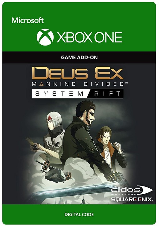 Deus Ex Mankind Divided: System Rift (Xbox ONE) - elektronicky