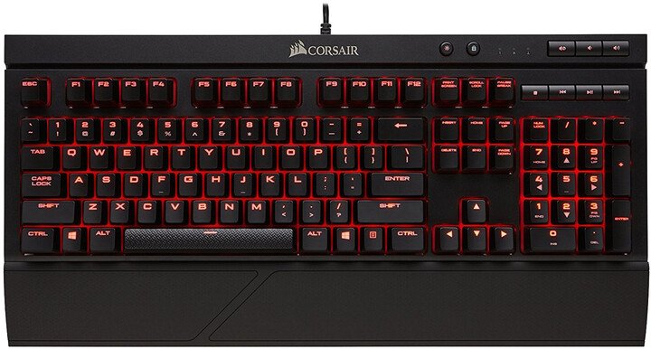 Corsair K68, Cherry MX Red, US