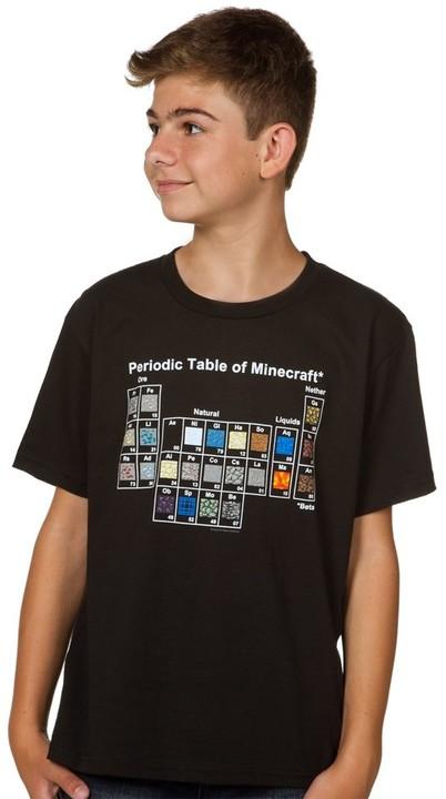 Minecraft Periodic Table, dětské (S)