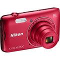 Nikon Coolpix A300, červená
