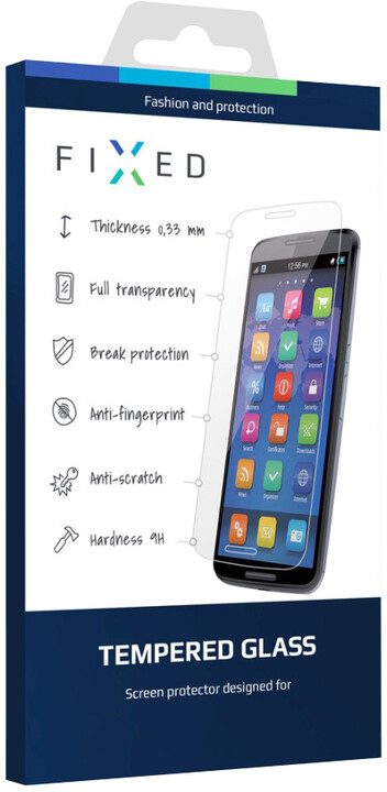 FIXED ochranné tvrzené sklo pro Samsung Galaxy Trend 2 Lite, 0.33 mm