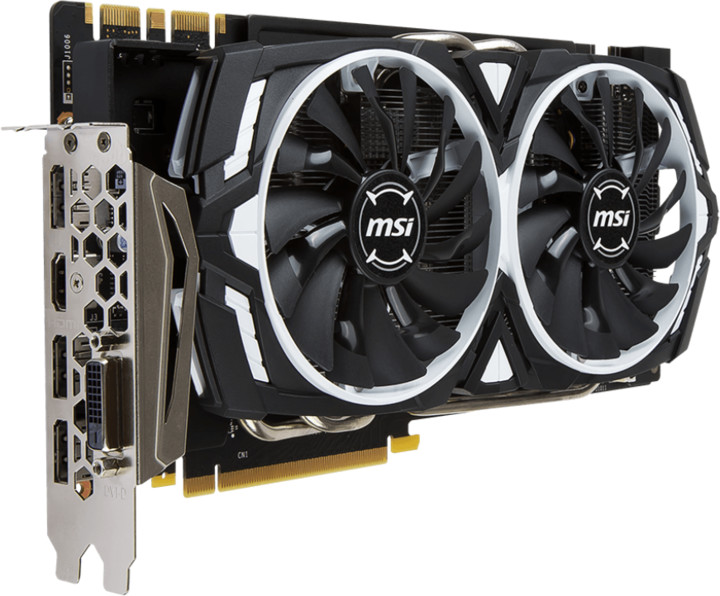 MSI GeForce GTX 1070 ARMOR 8G OC, 8GB GDDR5