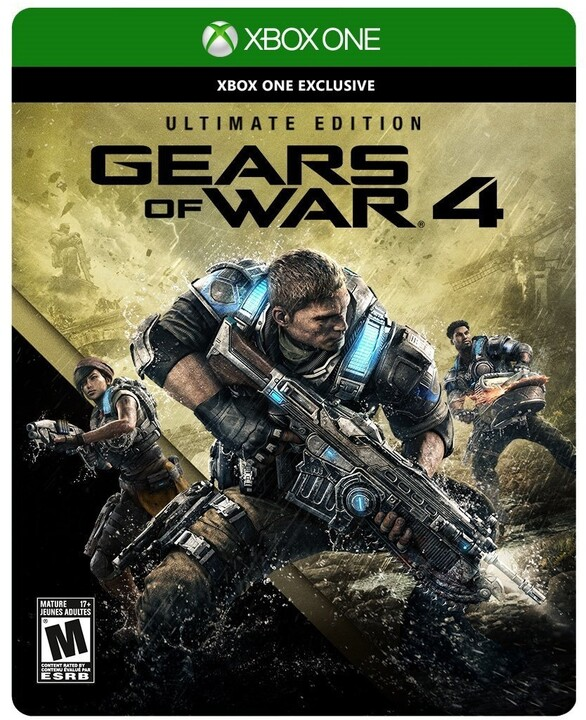 Gears of War 4 - Ultimate Edition (Xbox ONE)