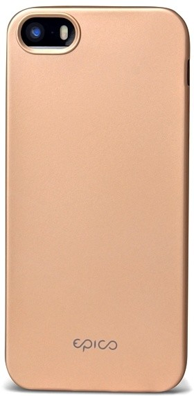 EPICO pružný plastový kryt pro iPhone 5 5S SE EPICO GLAMY - zlatý ... 3feb17e58b0