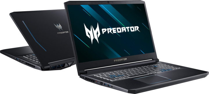 Acer Predator Helios 300 (PH317-53-78KG), černá