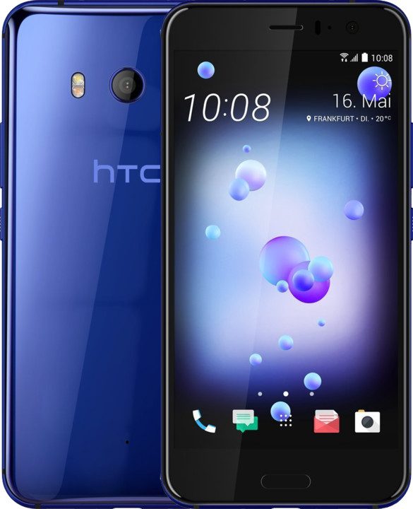 HTC U11, 4GB/64GB, Dual SIM, Sapphire Blue, modrá